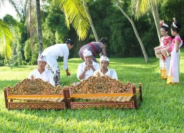 Rindik Flute Music, Wedding at Alila Ubud, Married in Bali Indonesia