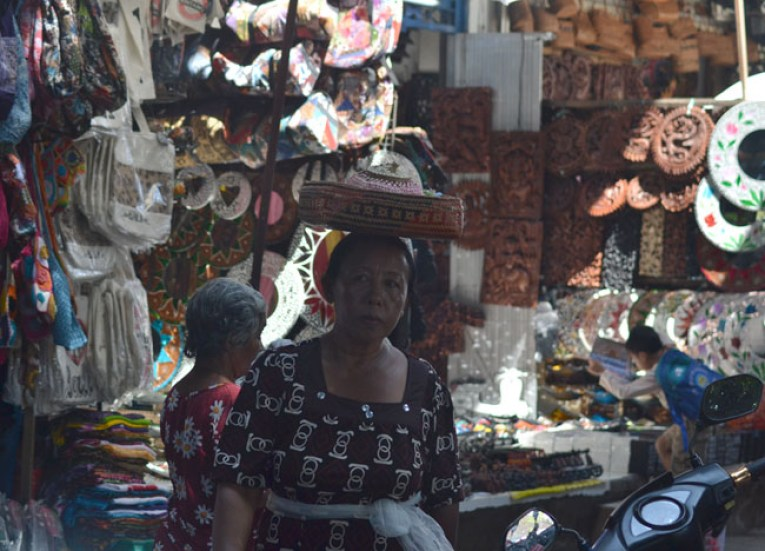 Ubud Central Market, Escape Tourism in Ubud Cultural Capital of Bali