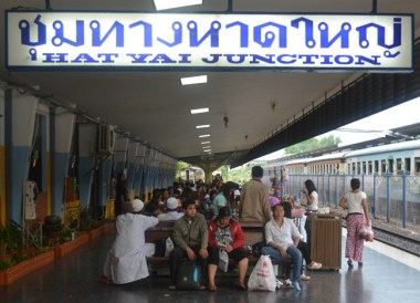 Hat Yai Junction, Singapore to Thailand by Train to Bangkok