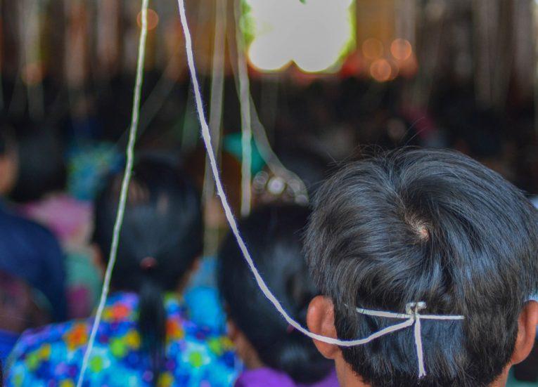 Songkran Celebration, String Bracelets Thailand, Sai Sin Sacred Thread, Asia