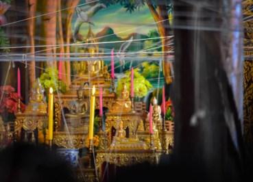 Temple Altar, String Bracelets Thailand, Sai Sin Sacred Thread, Asia