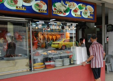 Hawkers in Geylang Area, Where to Stay in Singapore for Budget Travel