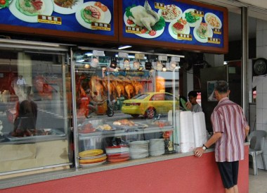 Hawkers in Geylang Area, Where to Stay in Singapore on a budget