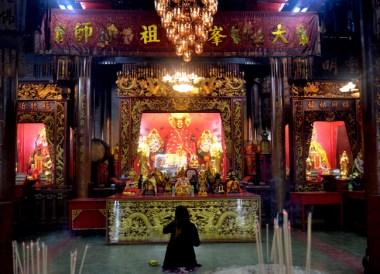 Hat Yai Chinese Temple, Singapore to Bangkok Overland Island Hopping
