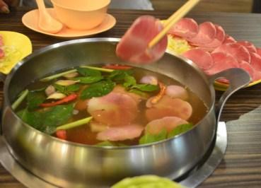 Pork Set, Thai Hot Pot Jim Jum, Joom Zap Hut, Barbecue Plaza, Bangkok