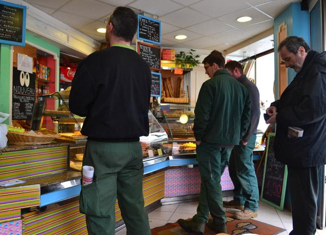 Bakery Boulangerie, Montparnasse Area of Paris, Montparnasse Station