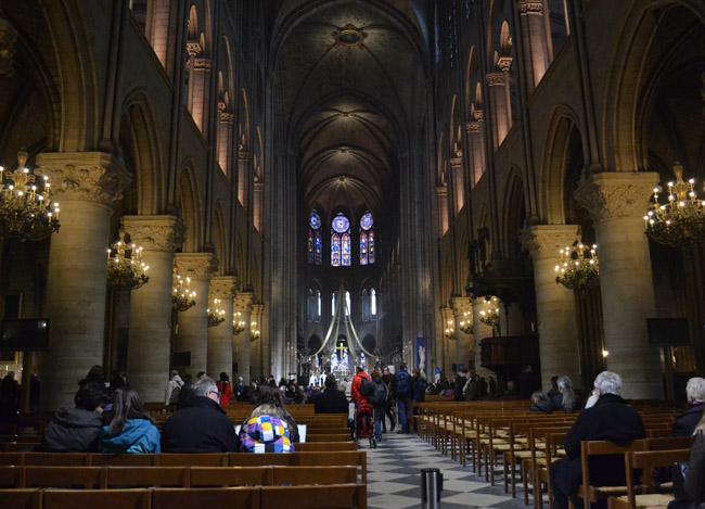 Inside Notre Dame, Montparnasse Area of Paris, Montparnasse Station