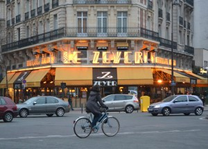 Le Zeyer Paris Cafe, London to Paris by Eurostar, Montparnasse Station