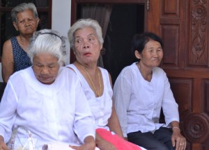 Elderly Thai, What is Betel Nut Chewing in Thailand, Southeast Asia
