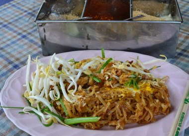 Pad Mee Noodles, Top Bangkok Street Food, Thailand Cheap Eats