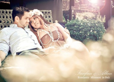 Relaxing at Alila, Pre-wedding Photo Shoot in Bali Photography Locations