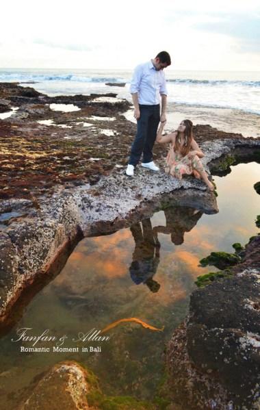 Tanah Lot Rocks Pre-wedding Photo Shoot in Bali Photography Locations