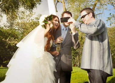 Skyping Home, Simple Wedding in Bali Ubud, Travel Bloggers Wedding