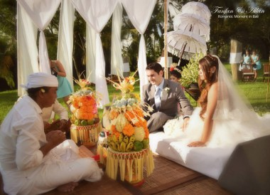 Balinese Wedding, Applied Denied a UK Spouse Visa Abroad Financial Requirements