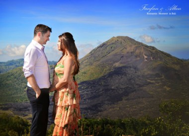Pre-Wedding Photo Mount Batur, Wedding in Bali Ubud, Travel Bloggers