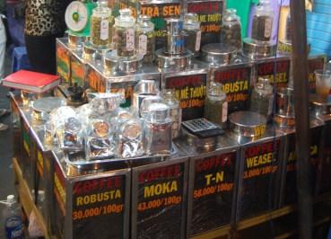 Weasel Coffee HCM Ben Thanh Market, Kopi Luwak Civet Cruelty, Vietnam