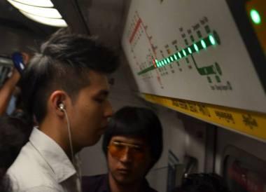 Singapore MRT Train, Singapore to Thailand by Train to Bangkok