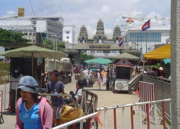 Aranyaprathet to Poipet, Thailand-Cambodia Border Crossing, SE Asia