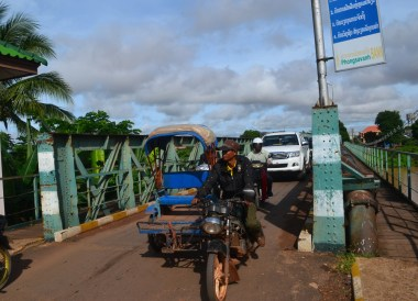 Korean Bridge at Wat Luang, Things to do in Pakse City Southern Laos
