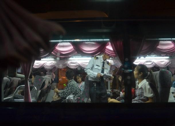 Mo Chit Station VIP Bus Thai Visa Run to Savannakhet Laos from Bangkok