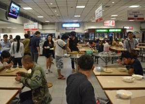 Toilet and Food Break, Pakse to Bangkok by Bus, Laos to Thailand, Asia