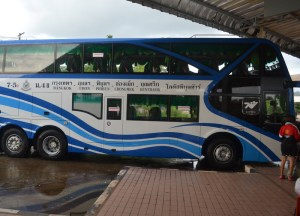 Bus Chong Mek Station, Pakse to Bangkok by Bus, Laos to Thailand, Asia