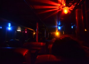 Night Time Bus, Savannakhet to Pakse by Bus, Travel in Southern Laos