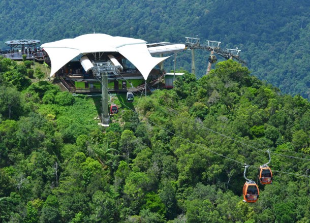 Langkawi Cable Car, Travel in Southeast Asia, Tourist Attractions