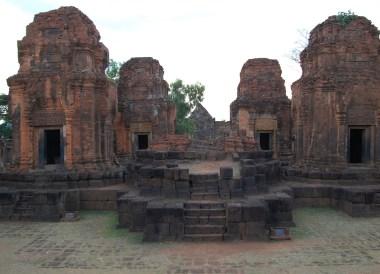 Inside Muang Tam Temple near Phanom Rung, Khmer Temples Thailand