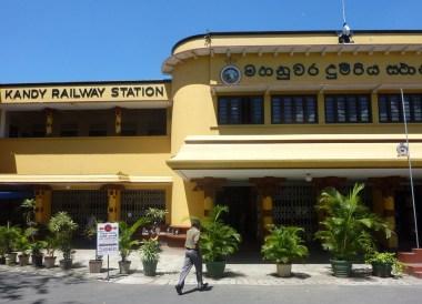 Kandy Train Station, South Sri Lanka Tour, Independent Travel Asia