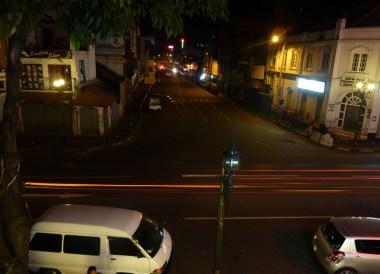 Kandy Main Street at Night, South Sri Lanka Tour, Independent Travel