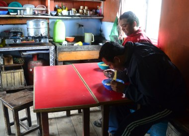 Instant Noodles, Himalayan Food, Eating in the Himalayas, Sikkim
