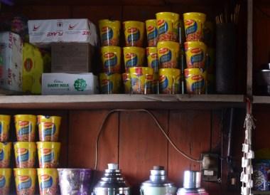 Maggi Instant Noodles, Himalayan Food, Eating in the Himalayas, Sikkim