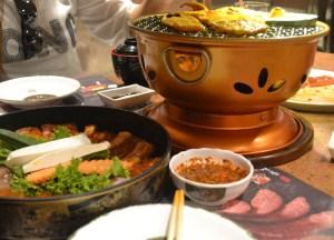 Cooking Bulgogi, Sukishi Korean Barbecue Bangkok, Japanese Food