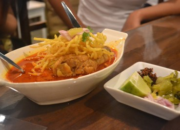 Khao Soi Curry, Northern Thai Food, Lanna Food, Eating in North Thailand, Asia