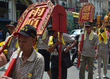 Bangkok Chinatown Parade, Kin Jay Chinese Vegetarian Festival Bangkok Thailand