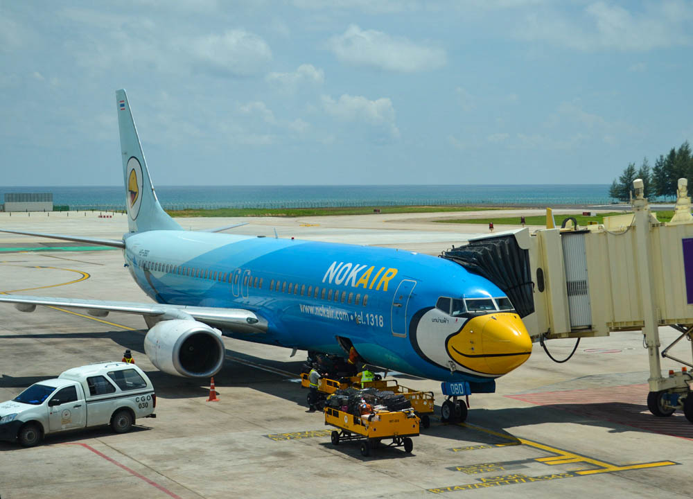 Phuket Airport, Nok Air Best Low Cost Airline Thailand