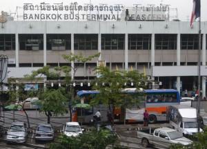Ekamai Bus Station, Long Distance Travel in Thailand, Bangkok