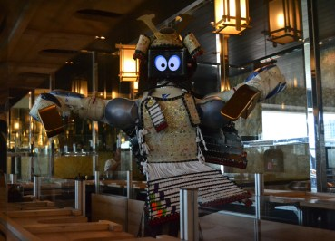 Cute Robot Waiter, Hajime Robot Restaurant, Bangkok, Japanese Yakiniku Barbecue