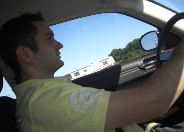 Driving to Washington, Driving Road Trip in America, New York County