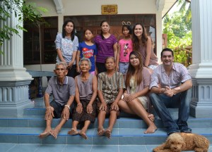 Local Family, Living in Rural Thailand, Isaan North East Thailand