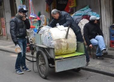 Giant Tea Pot Pouting Soup, Top Ten Chinese Street Food in Xian China