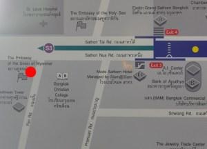 Surasak Skytrain Line, Buying Diamonds in Bangkok, Thailand
