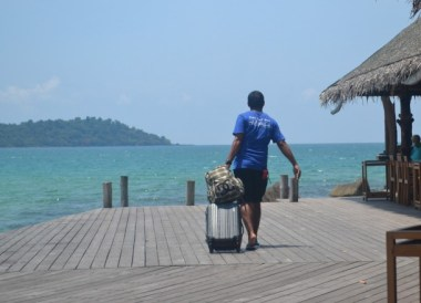 Private Jetty at Koh Kood, Thailand Border Towns and Attractions