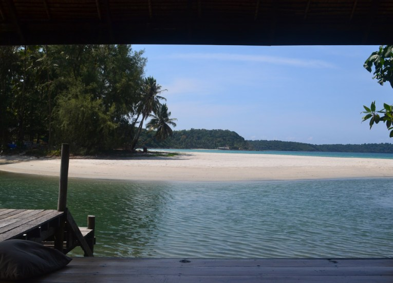 Views of Ao Yaikee Cliff Beach, Captain Hook Resort Koh Kood, Travel Thailand