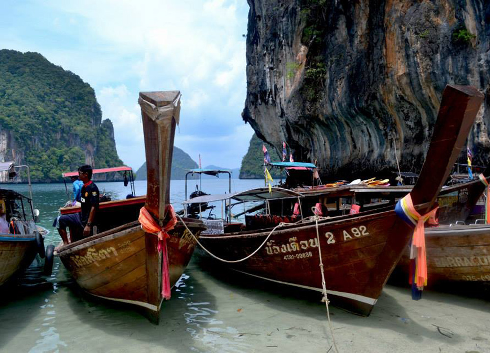 Island Hopping in Phang Nga, Travel to Koh Yao Yai from Phuket Airport