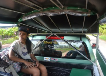 Songtaew Taxi Service on Island, Travel to Koh Yao Yai from Phuket Airport