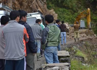 Gangtok to Changu Lake in Low Season, Mountain Landslide, Sikkim