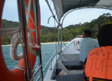 Arriving Perhentian Besar, Cameron Highlands to the Perhentian Islands