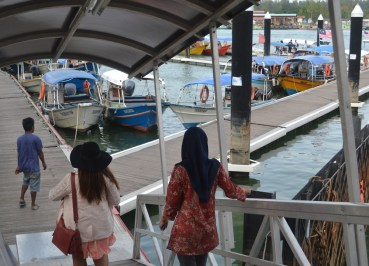 Kuala Besut Pier, Cameron Highlands to the Perhentian Islands